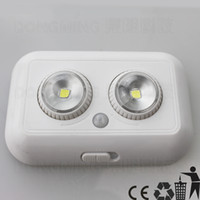 auto used body - pir motion sensor light human body AUTO sensing lamp for indoor use emergency night light led spot on w