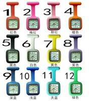 table chest - 40 new square jelly silicone watch luminous medical care hanging chest table pocket watch