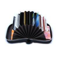 barrel organ - Genuine Leather Women Card Holder Wallets Small High Quality Female Pillow Purse Fashion Organ Color Zipper Credit Card Bag