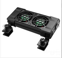 Wholesale BOYU FS Aquarium Cooling Fans For Fish Tank Motor with big wind and little noise
