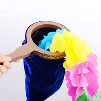 Wholesale New Amazing Funny Empty Bag Illusion Magic ConJuring Prop Magician Trick plastic Tool Sell Hotting High