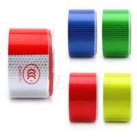 Wholesale New quot X10 M Reflective Safety Warning Conspicuity Tape Film Sticker Multicolor