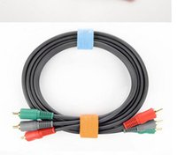 Wholesale Safety PC line collection straps the useful computer manage line accessories binding tape belt stick tape