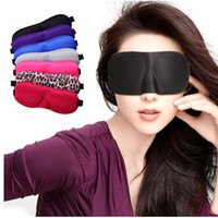 Wholesale 10pcs D sleep eye mask car travel supplies eye shade sponge cover blindfold hot selling OEM accept