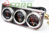 auto meter gauge set - OIL PRESSURE GUAGE AMP METER TRIPLE quot RACING quot x quot AUTO GAUGES SET Stainless plate WATER PRESSURE