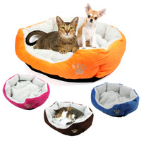 Wholesale Cute Soft Winter Cat Bed Mini House for Cat Pet Dog Sofa Bed Good Products for Puppy Cat Pet Dog Supplies