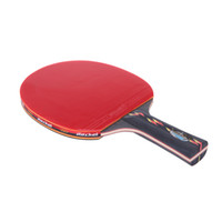 Wholesale Red Indoor Table Tennis Long Handle Shake hand Table Tennis Racket with Waterproof Bag Pouch