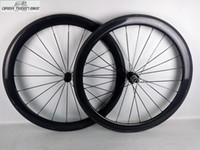 Wholesale high quality mm carbon wheels clincher tubular road bike wheelset year warranty UD matte glossy
