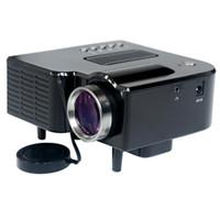 av ups - 2016 UC28 Portable LED Projector Cinema Theater PC Laptop VGA USB SD AV HDMI Projector Up to K Hours Life Mini Projector