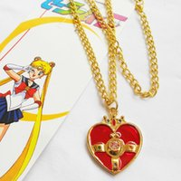 beautiful warriors - Beautiful girl warrior necklace pendant key button animation cartoon surrounding toy accessories ONE