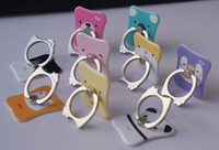 Cheap Universal Phone Holder Creative Stick Design Phone Ring Holder 360 Swivel Meatl Ring Holder Animal Pattern Phone Mount Holders