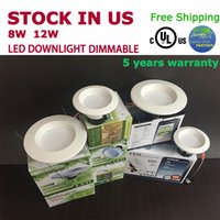 best retailer - UL dimmable led down light US stock W W E26 base cUL led light best product for retailer