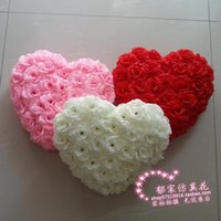 adorn flower decoration - 40cm Marriage room is hanged adorn wedding decoration heart flower ball wedding room decorations
