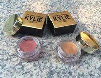 Wholesale 6pcs Kylie Jenner Birthday Edition Creme Eyeshadow Cream Makeup Kylie Creme Shadow Copper And Rose Gold DHL