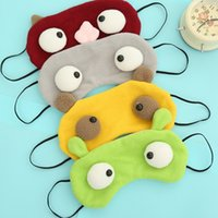 Wholesale New Cartoon Monster Eye Shading Sleep Mask Lovely Cosplay Blindfold Travel Aid Light Guide Rest Cover In Hot Sale