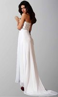 applique suppliers - Fantastic Strapless Embroidery Appliques Cheap White Big Ass Prom Dresses Plus Size Online Supplier