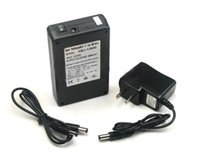 Wholesale EU Plug Rechargeable Lithium ion Battery Pack DC V mAh Portable Super Capacity for Monitor Camera CCTV