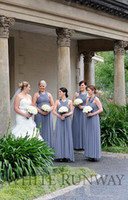 aqua drapes - grey dress aqua turquoise White bridesmaids dresses in lavender Halter mother of the bride evening dressess grace karin QW727