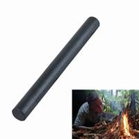 Wholesale 10ps Foot Outdoor Camping Survival Equipment Flint Play Poker Queen Solid cm Length Of mm Diameter