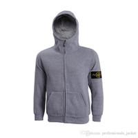 sportswear - 2015 spring new arrival mens island cardigan hoodies sweatshirt casual cotton sportswear mens stone jacket hoody plus S XL