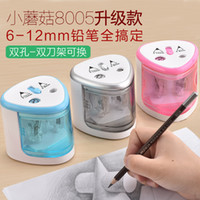 Wholesale New High Quality Automatic and Electric touch switch Pencil Sharpener Blue Pink Silver Colors for Home School Office