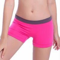 Wholesale Women Shorts New Summer Female Sports Gym Workout Waistband Skinny Mar