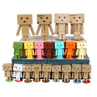 amazon figure box - LED Revoltech Danbo Danboard Amazon Logo Japan Box Version Figure Carton Gift Toy