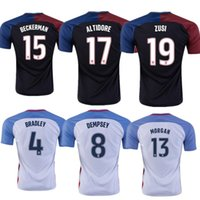 Wholesale A Quality United States Jerseys USA Shirt DEMPSEY DONOVAN BRADLEY ALTIDORE America s Cup Home Away Wholesalers rugby