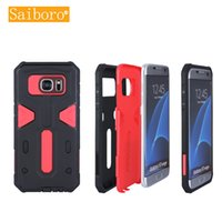Wholesale Saiboro Armor Protective Shock Absorption Bumper Phone Case for Samsung Galaxy S4 S5 S6 S6edge S6 Edge Plus S7 S7Edge S7Plus iPhone Plus