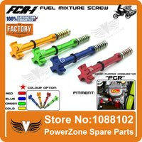 air adjuster - KEIHIN FCR Carburetor Easy Air Fuel Mixture CNC Adjuster Screw Fit Motorcycle CRF YZF WR KXF KLX KTM RMZ Motorcross