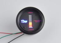 Wholesale 52mm Dsplay Color Car Motor Digital LED Air Fuel Ratio Gauge Auto Gauge Lean Rich