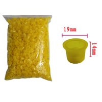 Wholesale solong tattoo Large Size MM Tattoo Ink Cups Yellow colors TC101