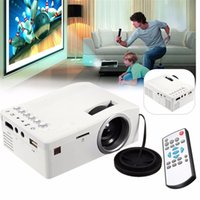 Wholesale High Resolution P Home Audio Video Multimedia system Portable Projector Patent Dial type Focusing Lens UC18 lm HMP_200