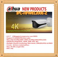 Wholesale DAHUA MP Ultra HD Network IR Bullet Camera with Smart Functions IP67 with mm Lens IPC HFW81200E Z