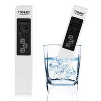 Wholesale 3 In Digital LCD TDS EC Water Quality Meter Tester Filter Purity Pen Stick PPM Water Measurement Tools