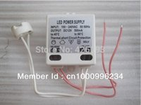 Wholesale 20pc DIY Mini LED Power Supply AC DC Adapters W mA Driver V V V V To V W Socket for LED MR11 MR16 G4 G4 W W W