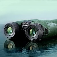 Wholesale USCAMEL x42 Military HD Binoculars Professional Hunting Compact Telescope Army Green new arrived