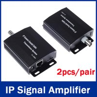 Wholesale High quality IP HD Network Coaxial Transmission Extender Extension Cable Signal Amplifier Ethernet Transmission m