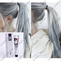 Wholesale 2016 ML Goon Hair Color Cream Light Grey Color Permanent Super Hair Dye Non toxic Personalized Gray