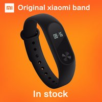 Wholesale In stock Original Xiaomi Mi Band Miband Tracker Heart Rate Monitor OLED Display Touchpad Bluetooth IP67 Waterproof