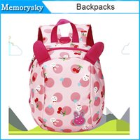 abs safety - Unti lost Child bags Safety Harness Strap dismountable cartoon backpacks for kids Prevent Lost children shoulders bag