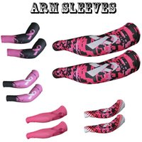 arm stretch - 2016 new sports Baseball Stitches camo arm sleeves baseball Outdoor Sport Stretch camo compression arm sleeve Anti breast cancer