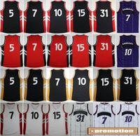 basket ball flash - BestHigh Basketball Jerseys Throwback Sport Shirt Rev New Material Retro Basket ball With Player Name Team Logo