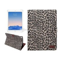 apple cheetah - Cheetah skin Case for ipad pro inch Leopard Leather Wallet Case for Apple ipad pro With Card Slot Flip Stand Case