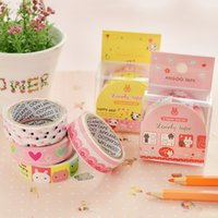 Wholesale Ann South Korea cute cartoon small fresh decorative DIY lace tape hand account must have stickers