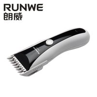 Wholesale Runwe Rs9101 electric clippers professional adult children electric clippers mute baby charging fader razor