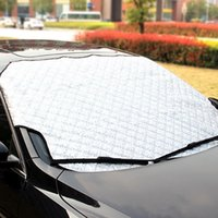 auto shade - Snow Shield Hook Up Sun Shade Half car cover Car styling Waterproof Durable for Auto Documents Car covers case