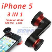 apple fisheye lens - Camera Lens for iPhone S Photo Lens Fast Charging Fisheye Wide Micro in Zoom Len Set Mount Fish Eye Lens