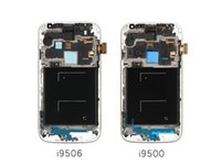 alibaba phones - 2pcs Mobile Phone LCD alibaba china highscreen clone For Samsung S4 I9506 i9500 i9505 Lcd Screen Digitizer frame Assembly