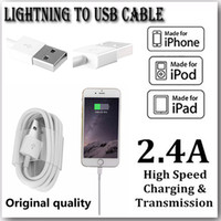 Wholesale Original Micro USB Phone Cable Charger For Apple iPhone S S Plus iPhone S C Charging Cable Data Transmission